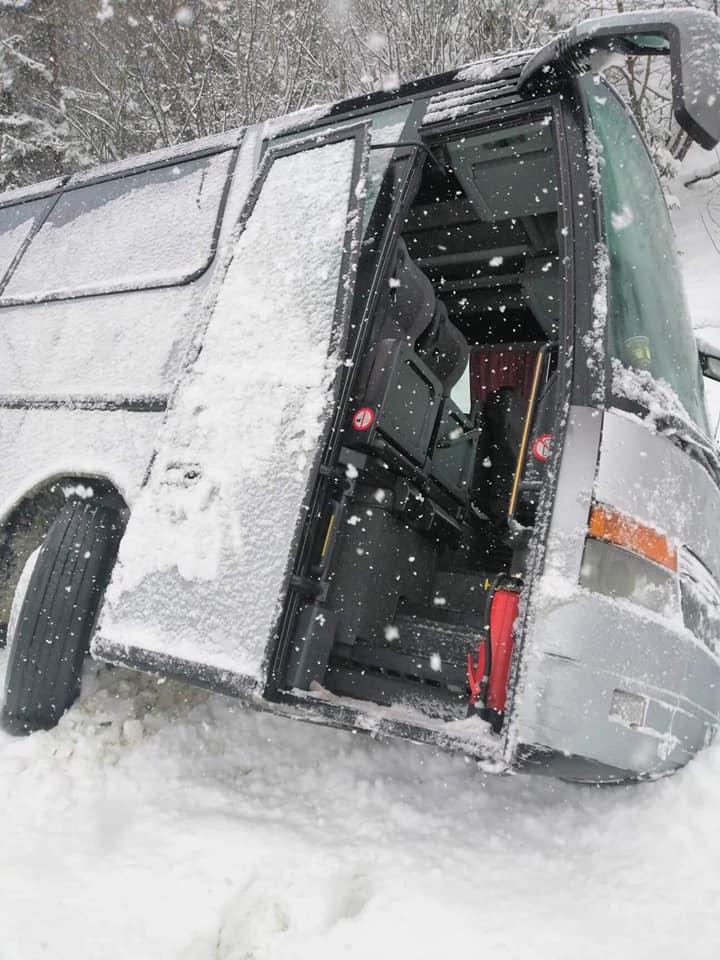 Львівщина аварія автобус