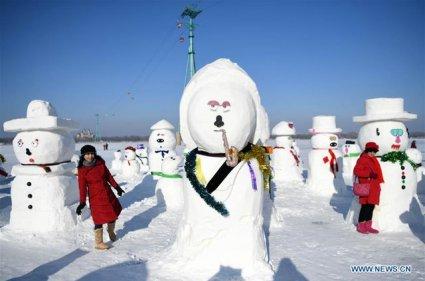 в китаї 2019 сніговиків