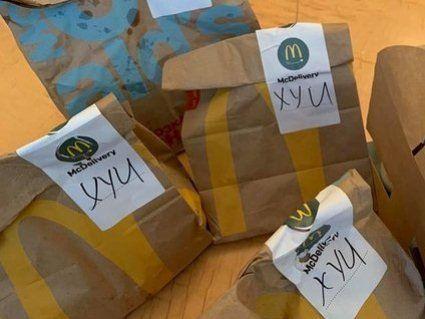 У Верховній Раді образилися на McDonald's через доставку з «матюками» (фото)