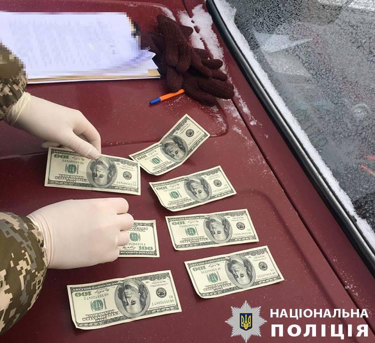 Затримання хабарника на Рівненщині