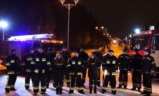 Рівненські рятувальники довели, що вміють колядувати (ВІДЕО)