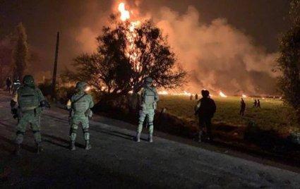 У Мексиці вибухнув трубопровід