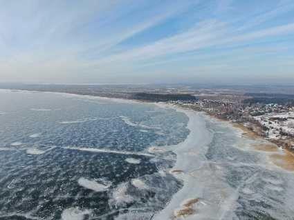 Вкритий кригою: неймовірні світлини зимового Світязю (фото)