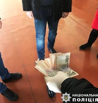 Директор волинського вишу попався на хабарі (фото)