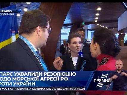 Українська журналістка назвала рот кремлівської пропагандистки «зливним бачком» (відео)