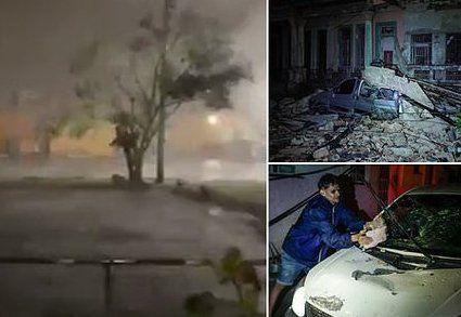 На Кубі бушує торнадо (ФОТО, ВІДЕО)