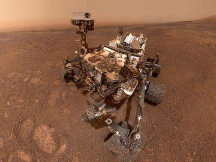 «Си-и-ир!»: у NASA показали «селфач» від марсохода Curiosity