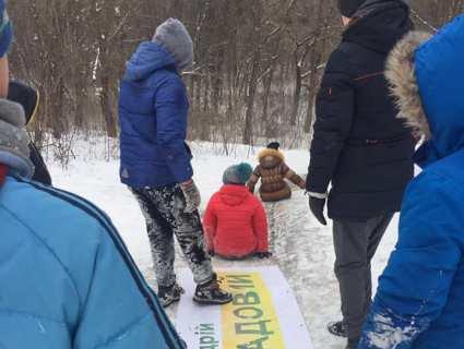 В Луцьку діти знайшли найкраще застосування для передвиборчої агітації (фото)