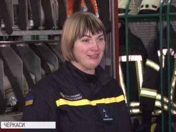 Та, що пройшла крізь вогонь: історія єдиної пожежниці в Україні (фото)