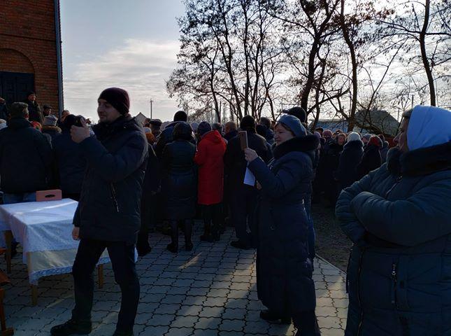 В Кульчині  місцева громада проголосувала за перехід до ПЦУ