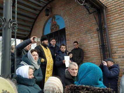 У Кульчині місцева громада проголосувала за перехід до ПЦУ (фото, відео)