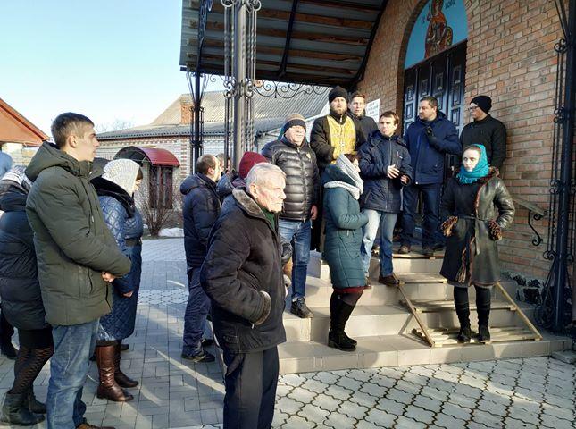 В Кульчині  місцева громада проголосувала за перехід до ПЦУ 3