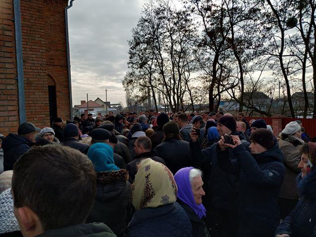 В Кульчині  місцева громада проголосувала за перехід до ПЦУ 2