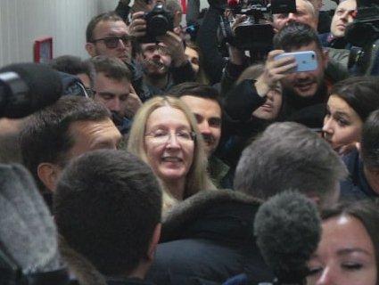 Супрун в суді: у Києві на підтримку міністерки зібрався мітинг (відео, фото)