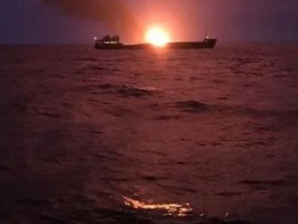 Вже 22 день: танкери в Чорному морі і досі горять