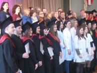 На врученні дипломів у Луцьку декан «фізкультурників» згадав про «Титанік» (фото)