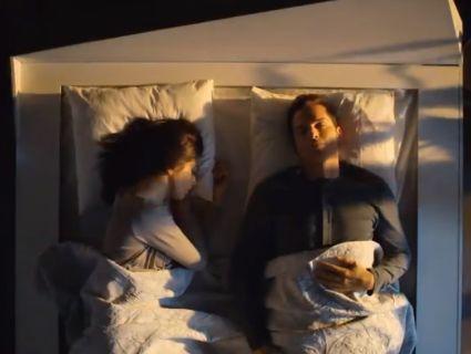 Комфортний сон: у США розробили ліжко, яке відсуває партнерів на свої половини
