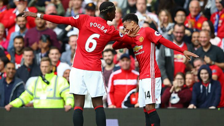 «Манчестер Юнайтед» на третє місце в рейтингу