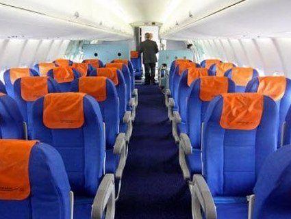 Мандрівник назвав найкращі місця в літаку
