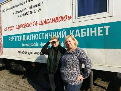 «Мамограф на колесах»: лучанок кличуть на безкоштовний огляд