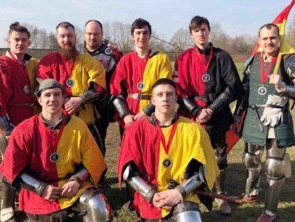 Луцькі лицарі стали призерами на міжнародному турнірі