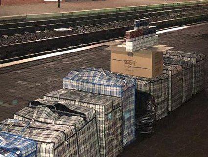 На Волині вилучили понад 11 тисяч пачок цигарок, які хотіли провезти в Польщу (фото)