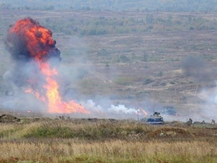 Внаслідок вибуху на полігоні постраждали двоє строковиків 72-ї ОМБР