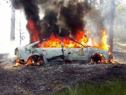 Столичному прокурору спалили авто