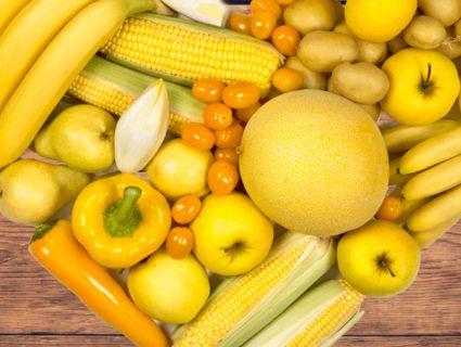 Чим корисні фрукти й овочі жовтого кольору