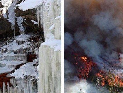 Аномалії: США замерзає, а Європа — палає