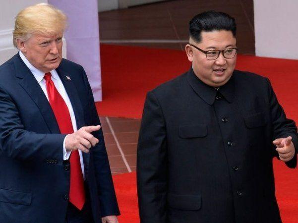 Як Трамп і Кім Чен Ин ракетами мірялися (відео)