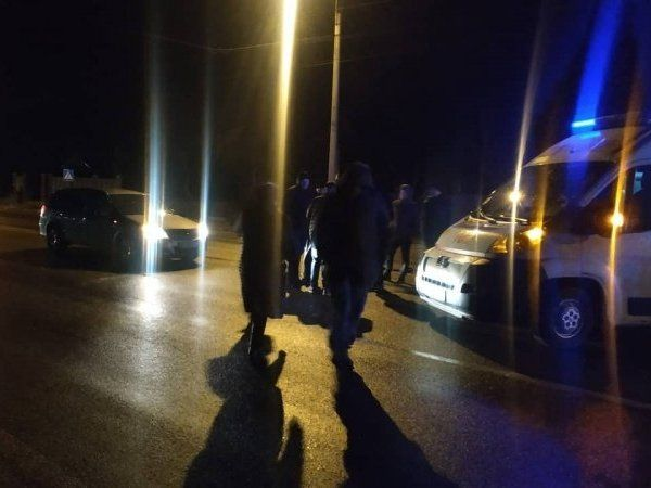 Під Луцьком авто збило людину (фото, доповнено)