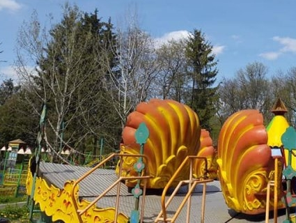 На вихідних у луцькому парку запрацюють атракціони