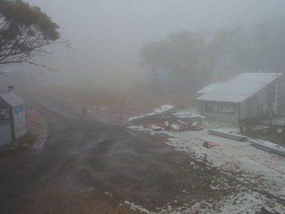 В Австралії несподівано випав сніг (фото)