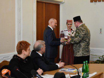 На Волині нагородили волонтерів, учасників Майдану, військових капеланів