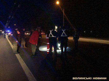 Під Луцьком автомобіль збив насмерть волинського журналіста (фото, доповнено)