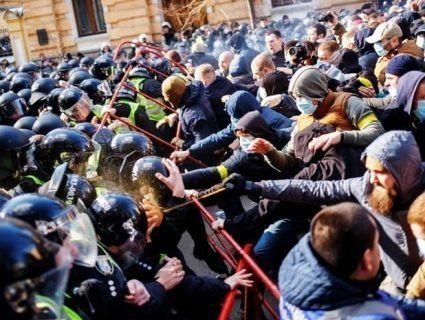 Результат сутичок  у Черкасах: організаторів з «Нацкорпусу»  внесли до бази «Миротворця»