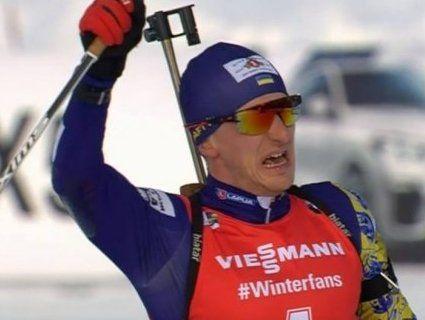 Українець вперше переміг на чемпіонаті світу з біатлону