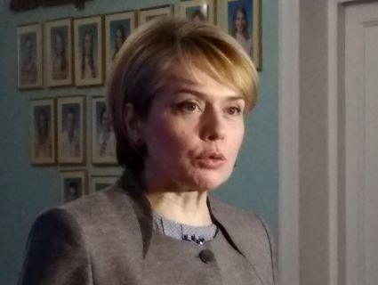 У Луцьку міністерка освіти розповіла про важливість вбиралень