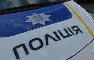 У Луцьку на автомобіль патрульних хулігани причепили гумовий член (фото)