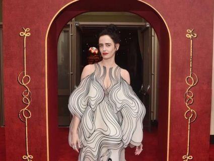 Акторка Єва Грін відвідала прем'єру в сукні з 3D-принтера (фото)