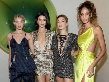 Без білизни, у прозорому: Кім Кардашян, «ангели» Victoria's Secret та Ешлі Грем (фото)