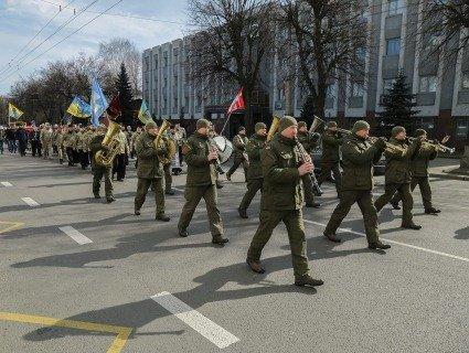 Як у Луцьку відзначили День українського добровольця? (фото)