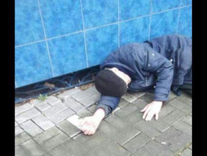 У Луцьку муніципал урятував дідуся, у якого «схопило» серце (фото)