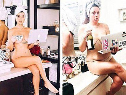 Зірка соцмереж: австралійка найкраще пародіює знаменитостей (фото)