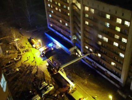 У Львові горів студентський гуртожиток – евакуювали 200 осіб (фото, відео)