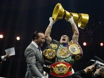 WBA зобов'язала Усика захистити титул у поєдинку з росіянином Лебедєвим
