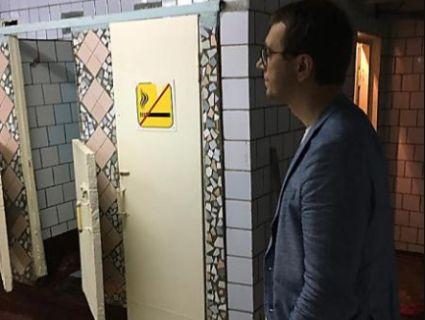 Міністр Омелян пообіцяв «у тандемі» з Гройсманом відремонтувати вокзальний туалет