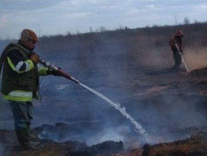 На Волині горить торф'яник (фото)