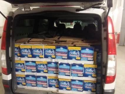 На Закарпатті на митниці вилучили 16 кавоварок, 44 міксери та 300 пляшок алкоголю